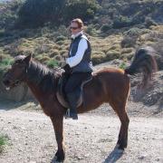 Melanouri horse farm. Мартина и ее подопечный. Полная гармония