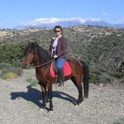 Melanouri horse farm. Прогулка в горах